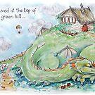 Dragon Hill - illustration by Donata Zawadzka