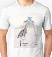 Heron and The Beach House Unisex T-Shirt