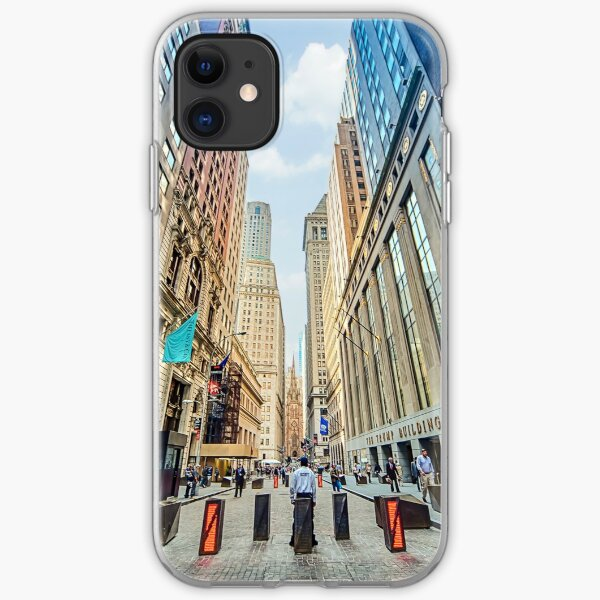 Wall Street iPhone Soft Case