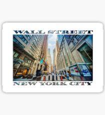 Wall Street Sticker