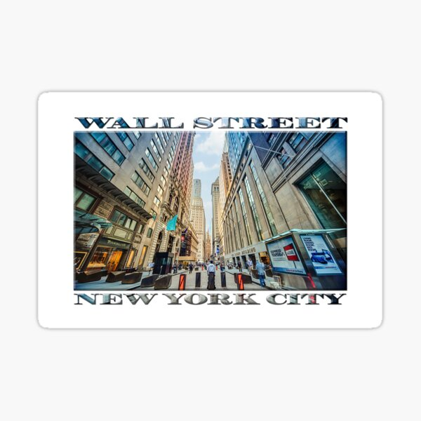 Wall Street Sticker