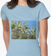 White Blossoms of Spring T-Shirt
