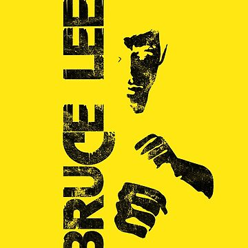 Bruce yellow tee. by Designeatore