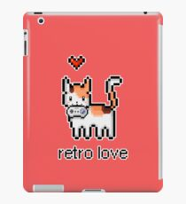 8 bit retro kitty iPad Case/Skin