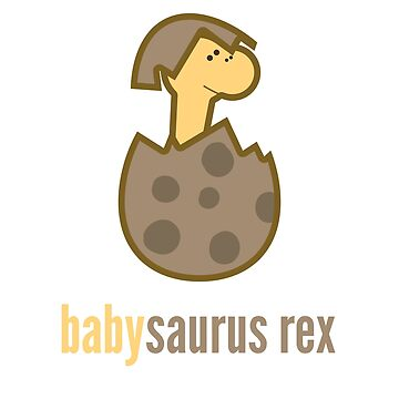 Babysaurus Rex T-Shirt Family Dinosaur Shirts by DoggyStyles