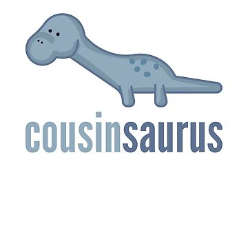Cousinsaurus Shirt Family Dinosaur Shirt Set by DoggyStyles