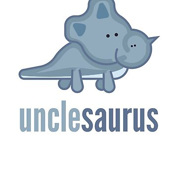 Unclesaurus Shirt Family Dinosaur Shirts Set by DoggyStyles