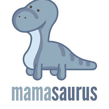 Mamasaurus T-Shirt Family Dinosaur Shirt Set by DoggyStyles