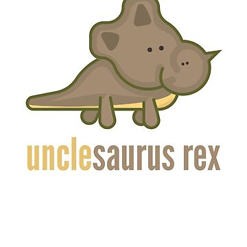 Unclesaurus Rex T-Shirt Family Dinosaur Shirts by DoggyStyles