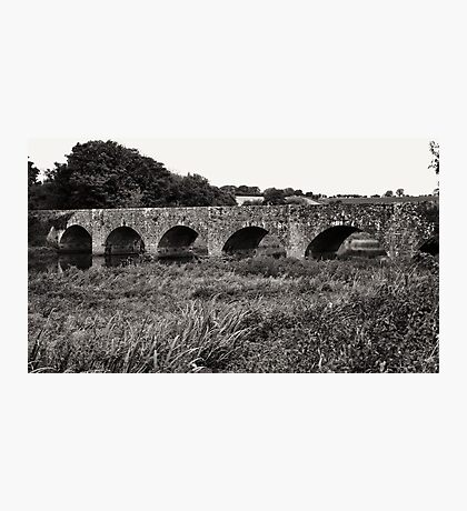 Old road bridge #2 Photographic Print