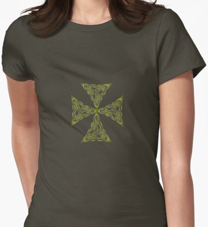 Lindisfarne St Johns Knot Grunge T-Shirt