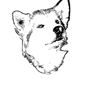 Alaskan Malamute Face Design - A Mal Christmas Gift by DoggyStyles