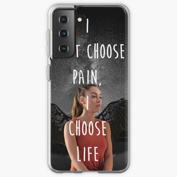 "Raven Reyes: ""I Choose Life"" Coque souple Samsung Galaxy"