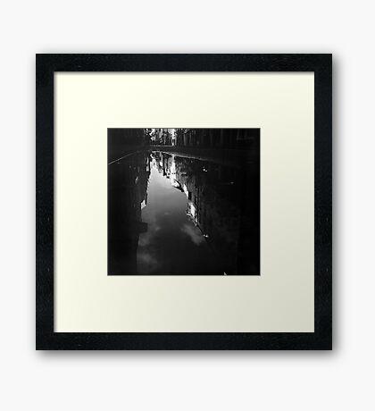 Cook Street Under Water Framed Print