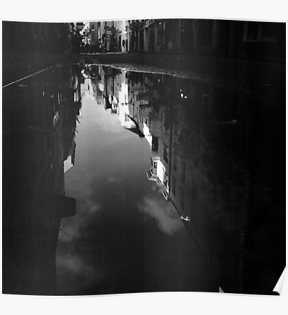 Cook Street Under Water Poster