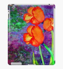 Tulipes Orange iPad Case/Skin