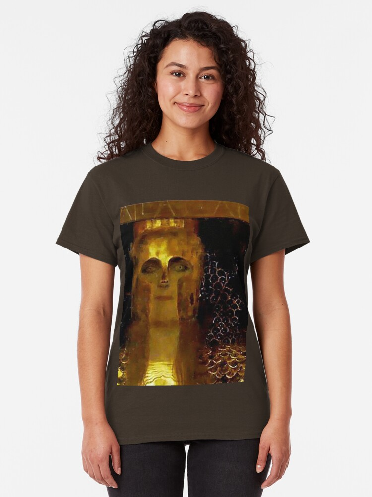 Alternate view of Pallas Athena....Greek female warrior Godess Classic T-Shirt