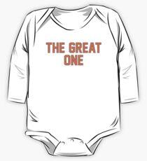 Body de manga larga The Great One (EDM)