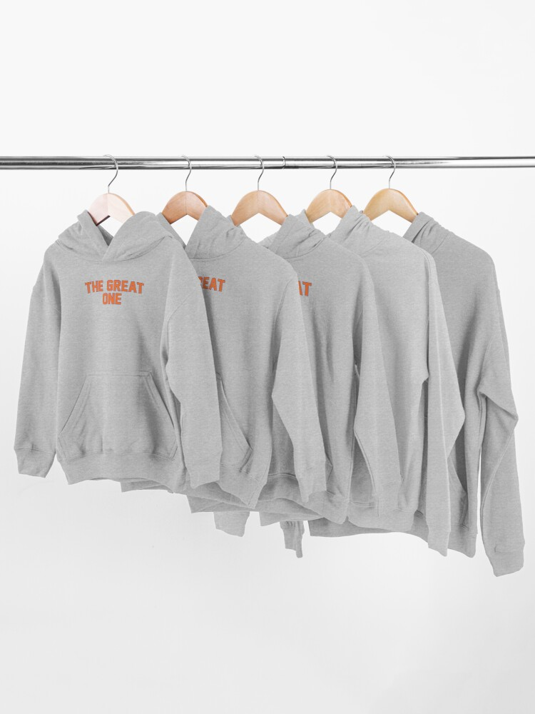Alternate view of The Great One (EDM) Kids Pullover Hoodie