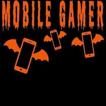 Mobile Gamer -  Halloween Costume by Huschild