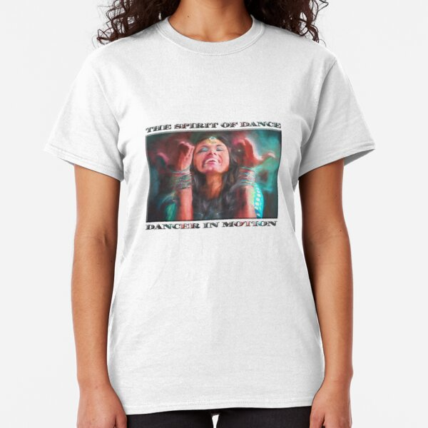 Dancer in Motion   (digital painting)      Classic T-Shirt