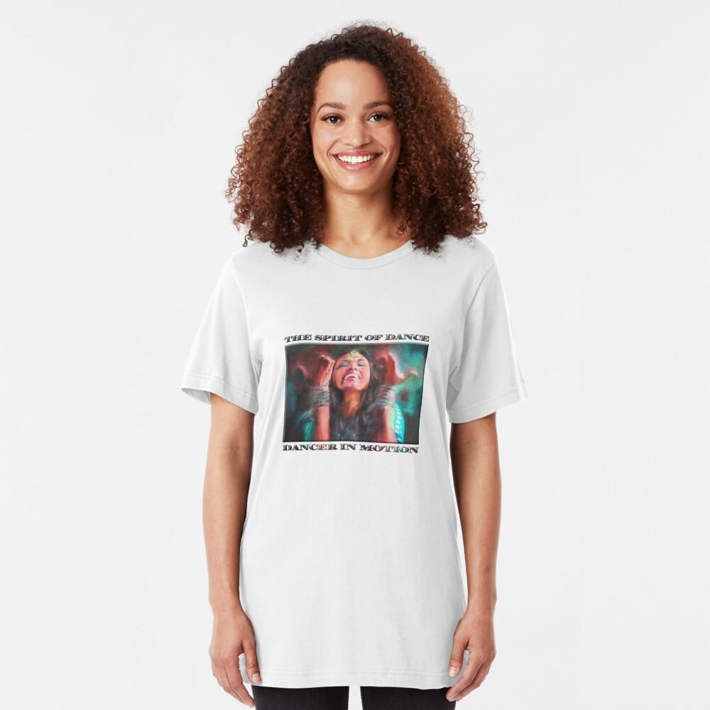 Dancer in Motion   (digital painting)      Slim Fit T-Shirt