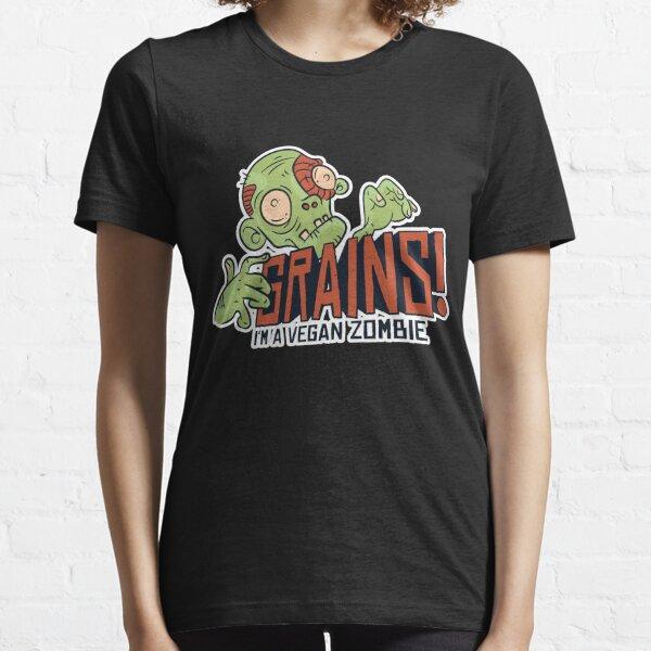 Vegan Zombie - Grains Essential T-Shirt