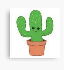 Cute Cactus Canvas Print