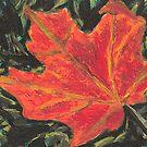 Autumn Leaf by Carol Megivern