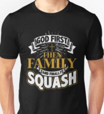 Squash Priorität Slim Fit T-Shirt
