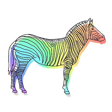 Watercolor Zebra  by Cranmer93