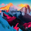 Sonnenuntergang Berge von Clairosene