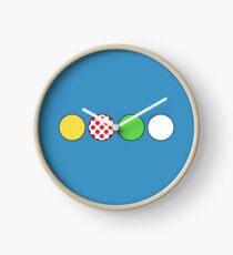 Tour de France Jerseys Clock