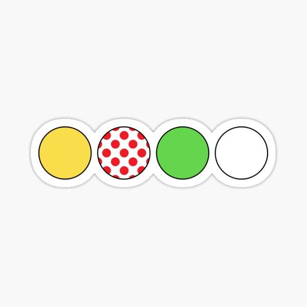 Maillots Tour de France Sticker