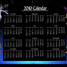 2010 Faeries Yearly Calendar by Jennifer M Gann