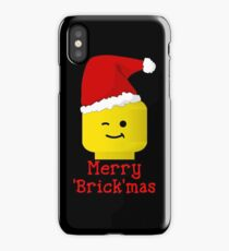 Santa Minifig - Merry 'Brick'mas iPhone Case