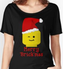 Santa Minifig - Merry 'Brick'mas Women's Relaxed Fit T-Shirt