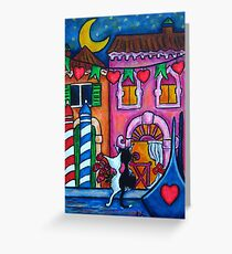 Amore in Venice Greeting Card