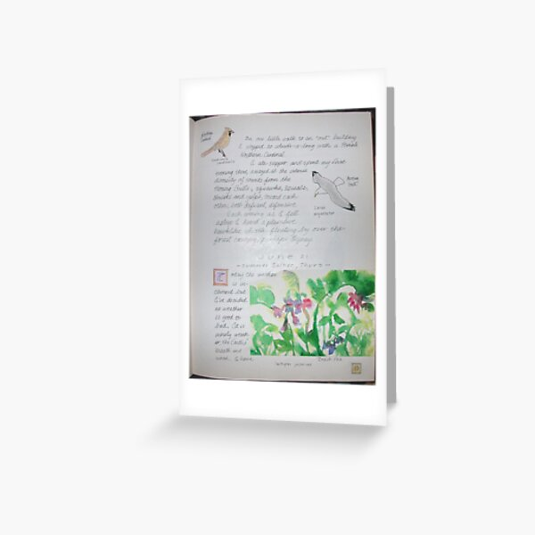 Page 10-Nature Journal Greeting Card