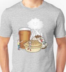 Happy Food Smells Unisex T-Shirt