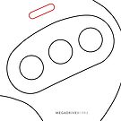 Mega Drive II Controller by Kieran McClung