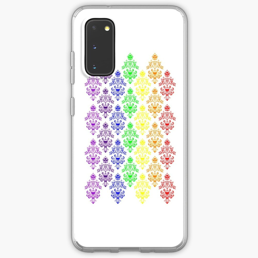 Rainbow Haunted Mansion Wallpaper Case Skin For Samsung Galaxy By Fandomtrading Redbubble