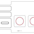 NES Controller by Kieran McClung