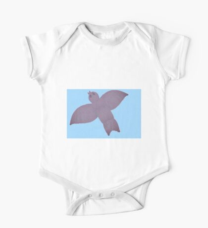 Winged Pattern Kids Clothes