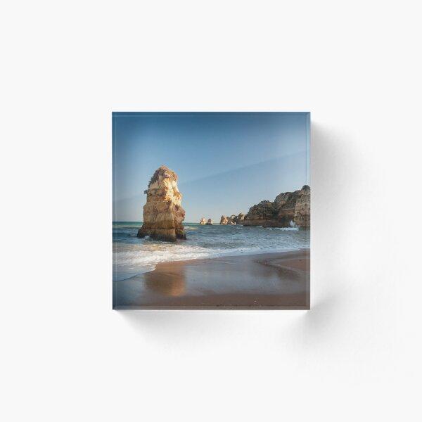the Algarve Acrylic Block