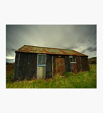 Tin Croft on Raasay Photographic Print