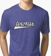 Townie - Townie From Newfoundland - St. John's Newfoundland Tri-blend T-Shirt