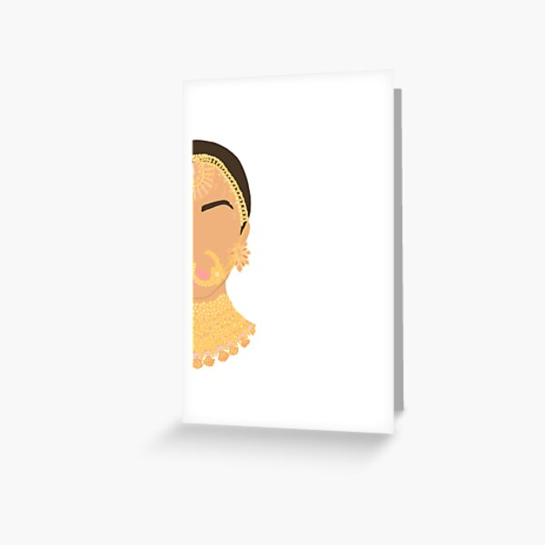 Only Half the Story  Greeting Card