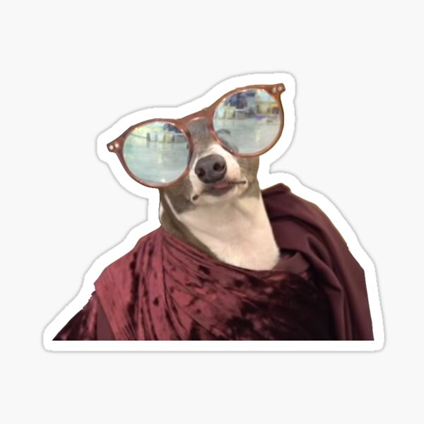 Kermit leisuring jenna marbles Sticker