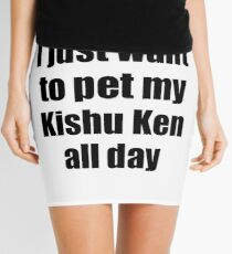 Minifalda Idea divertida del regalo de Kishu Ken Dog Lover Mom Dad